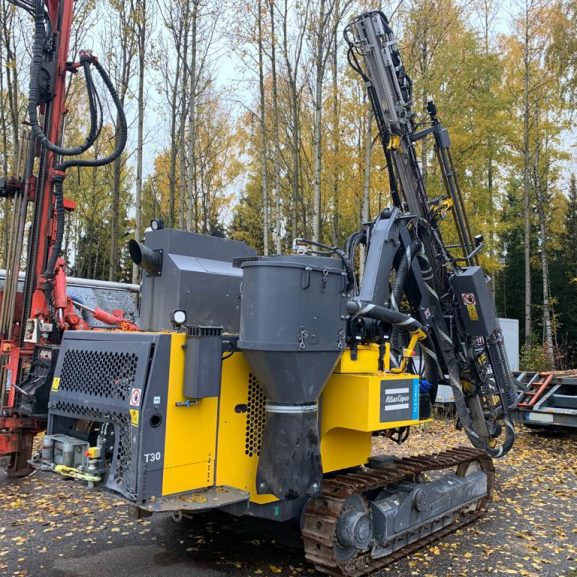 atlas copco flexiroc t30