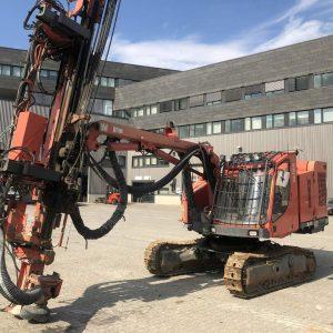 sandvik dx780 borrvagn