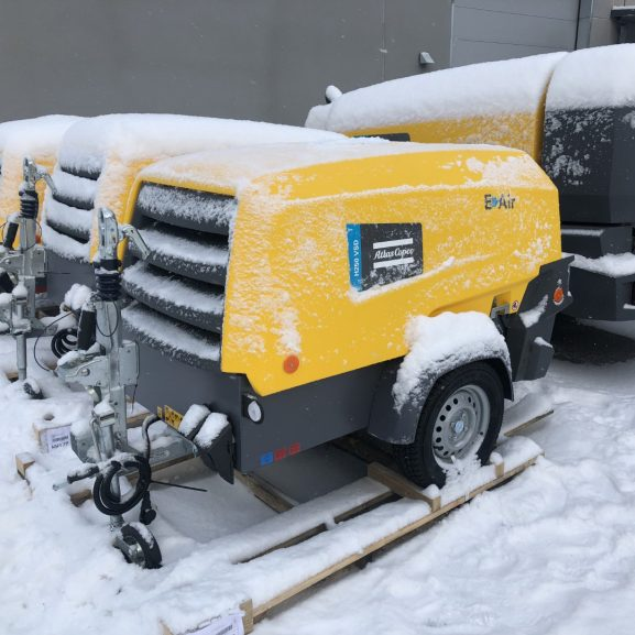Atlas Copco E-Air H250 elkompressor